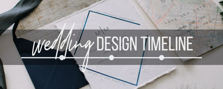 Wedding Design Timeline